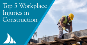 Commercial Lines Top 5 Injuries in Construction