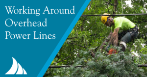 Commercial Lines Working Around Overhead Power Lines