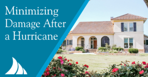Personal Lines Minimize Damage After a Hurricane