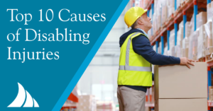 Commercial Lines Top 10 Causes of Disabling Injuries