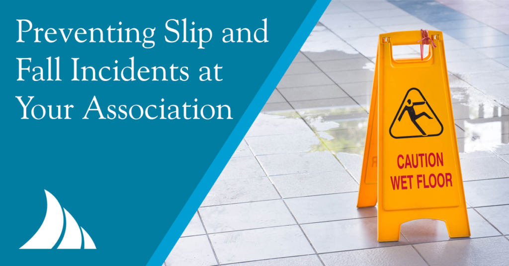 Commercial Lines Preventing Slip and Fall Incidents at Your Association